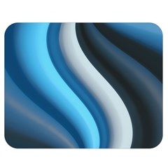 Abstract Pattern Lines Wave Double Sided Flano Blanket (Medium)