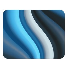 Abstract Pattern Lines Wave Double Sided Flano Blanket (Large)