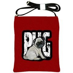 Pug Shoulder Sling Bags