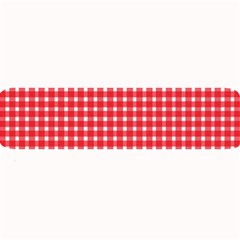 Pattern Diamonds Box Red Large Bar Mats