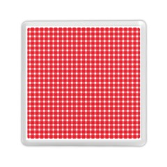 Pattern Diamonds Box Red Memory Card Reader (Square)