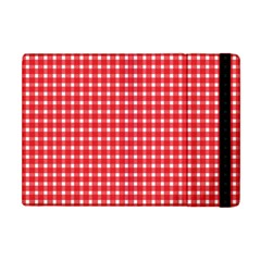 Pattern Diamonds Box Red Apple Ipad Mini Flip Case
