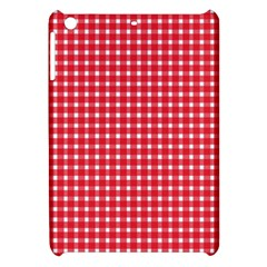 Pattern Diamonds Box Red Apple iPad Mini Hardshell Case