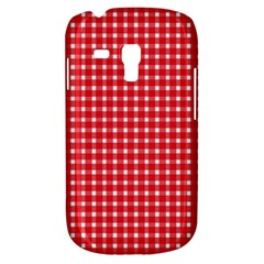 Pattern Diamonds Box Red Galaxy S3 Mini