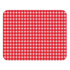 Pattern Diamonds Box Red Double Sided Flano Blanket (Large)