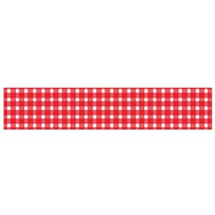 Pattern Diamonds Box Red Flano Scarf (Small)