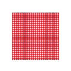 Pattern Diamonds Box Red Satin Bandana Scarf