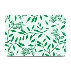 Leaves Foliage Green Wallpaper Plate Mats