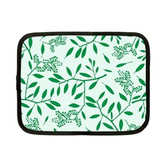 Leaves Foliage Green Wallpaper Netbook Case (small)