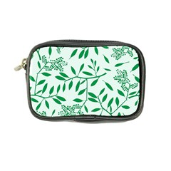 Leaves Foliage Green Wallpaper Coin Purse