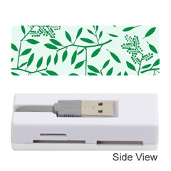 Leaves Foliage Green Wallpaper Memory Card Reader (Stick)