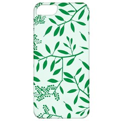 Leaves Foliage Green Wallpaper Apple Iphone 5 Classic Hardshell Case