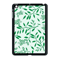 Leaves Foliage Green Wallpaper Apple Ipad Mini Case (black)