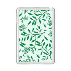 Leaves Foliage Green Wallpaper iPad Mini 2 Enamel Coated Cases