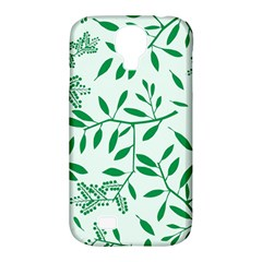 Leaves Foliage Green Wallpaper Samsung Galaxy S4 Classic Hardshell Case (pc+silicone)