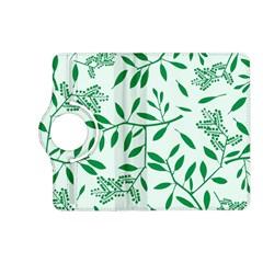 Leaves Foliage Green Wallpaper Kindle Fire Hd (2013) Flip 360 Case