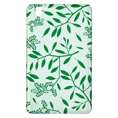 Leaves Foliage Green Wallpaper Samsung Galaxy Tab Pro 8 4 Hardshell Case