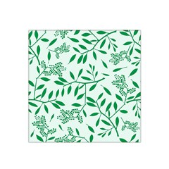 Leaves Foliage Green Wallpaper Satin Bandana Scarf