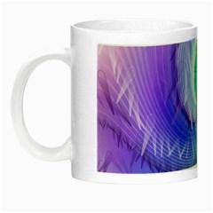 Background Colorful Scrapbook Paper Night Luminous Mugs