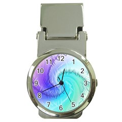 Background Colorful Scrapbook Paper Money Clip Watches