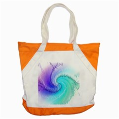 Background Colorful Scrapbook Paper Accent Tote Bag