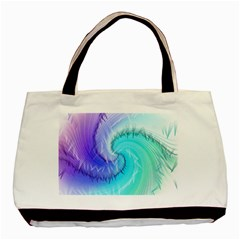 Background Colorful Scrapbook Paper Basic Tote Bag (two Sides)
