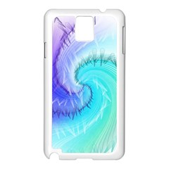 Background Colorful Scrapbook Paper Samsung Galaxy Note 3 N9005 Case (white)