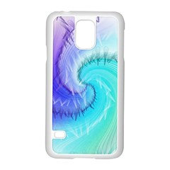 Background Colorful Scrapbook Paper Samsung Galaxy S5 Case (white)