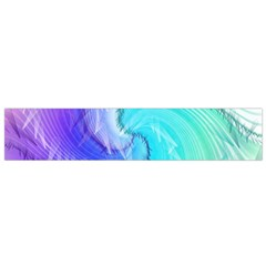 Background Colorful Scrapbook Paper Flano Scarf (Small)