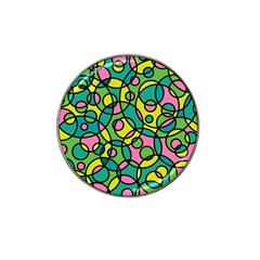 Circle Background Background Texture Hat Clip Ball Marker (10 Pack)