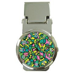 Circle Background Background Texture Money Clip Watches
