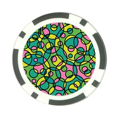 Circle Background Background Texture Poker Chip Card Guard (10 pack)