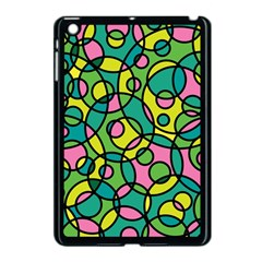 Circle Background Background Texture Apple iPad Mini Case (Black)
