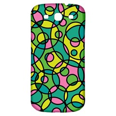 Circle Background Background Texture Samsung Galaxy S3 S Iii Classic Hardshell Back Case