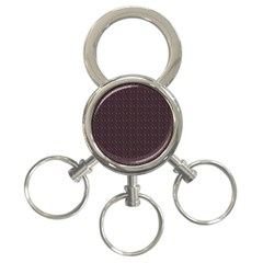 Pattern Background Star 3-Ring Key Chains