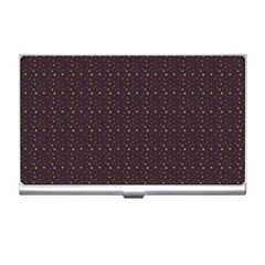 Pattern Background Star Business Card Holders