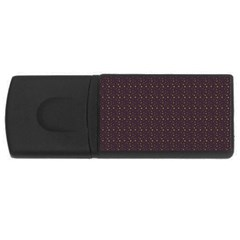 Pattern Background Star USB Flash Drive Rectangular (1 GB)