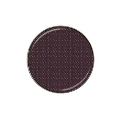 Pattern Background Star Hat Clip Ball Marker (4 Pack)
