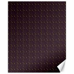 Pattern Background Star Canvas 11  x 14
