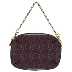 Pattern Background Star Chain Purses (two Sides)