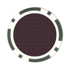 Pattern Background Star Poker Chip Card Guard (10 pack)