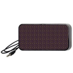 Pattern Background Star Portable Speaker (Black)