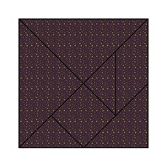 Pattern Background Star Acrylic Tangram Puzzle (6  X 6 )