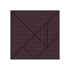 Pattern Background Star Acrylic Tangram Puzzle (4  x 4 )