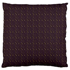 Pattern Background Star Large Cushion Case (one Side)