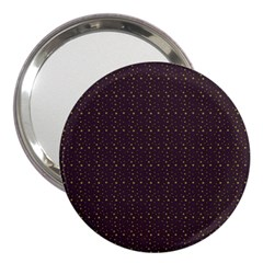 Pattern Background Star 3  Handbag Mirrors