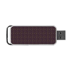 Pattern Background Star Portable Usb Flash (two Sides)