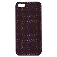 Pattern Background Star Apple Iphone 5 Hardshell Case