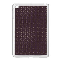 Pattern Background Star Apple iPad Mini Case (White)