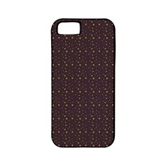 Pattern Background Star Apple Iphone 5 Classic Hardshell Case (pc+silicone)